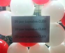 Cleo bestaat 20 jaar